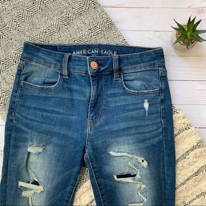 American Eagle Outfitters Hi Rise Jegging Jeans